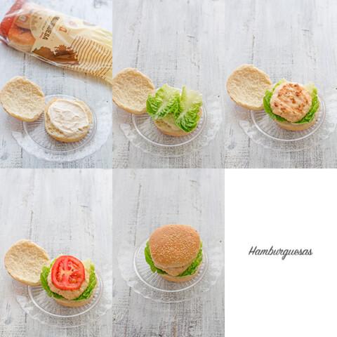 paso a paso hamburguesa casera