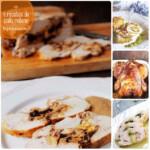 Pollo relleno: 4 recetas fáciles y ricas