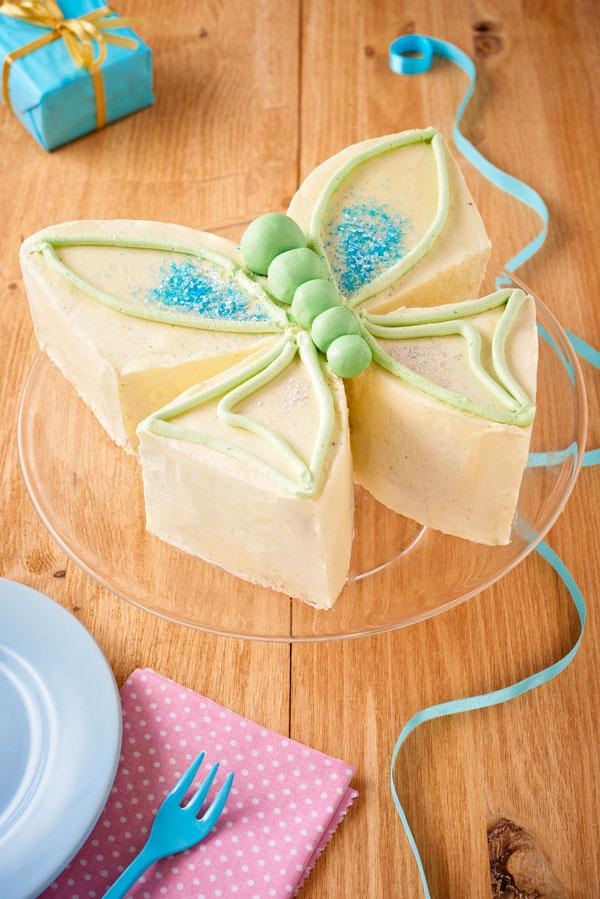 tarta cumpleaños mariposa