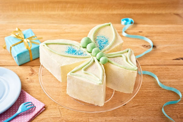 tarta mariposa niñas