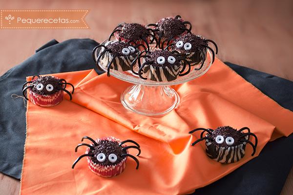 Cupcakes halloween, terroríficamente ricos