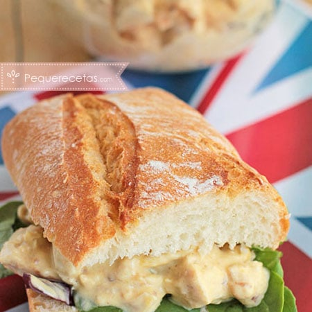 Coronation Chicken, sándwich de pollo