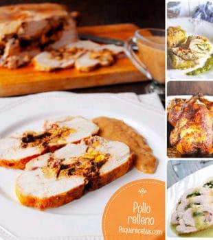 pollo relleno recetas