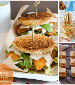 Sándwich de pollo: varias recetas