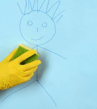 trucos limpieza niños