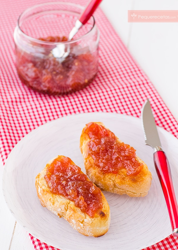 receta mermelada de tomate