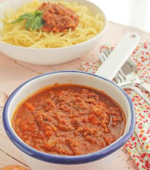 salsa boloñesa