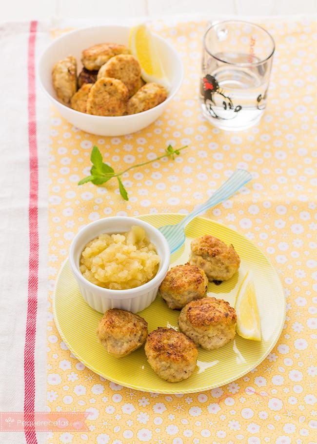 albondigas-de-pollo-con-manzana