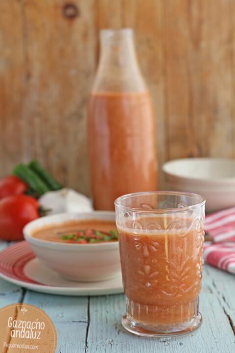 buscar receta de gazpacho de tomate