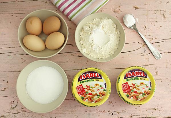 Ingredientes Brazo Ensalada Rusa