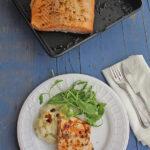 Salmón al horno, la receta más fácil ¡de libro!