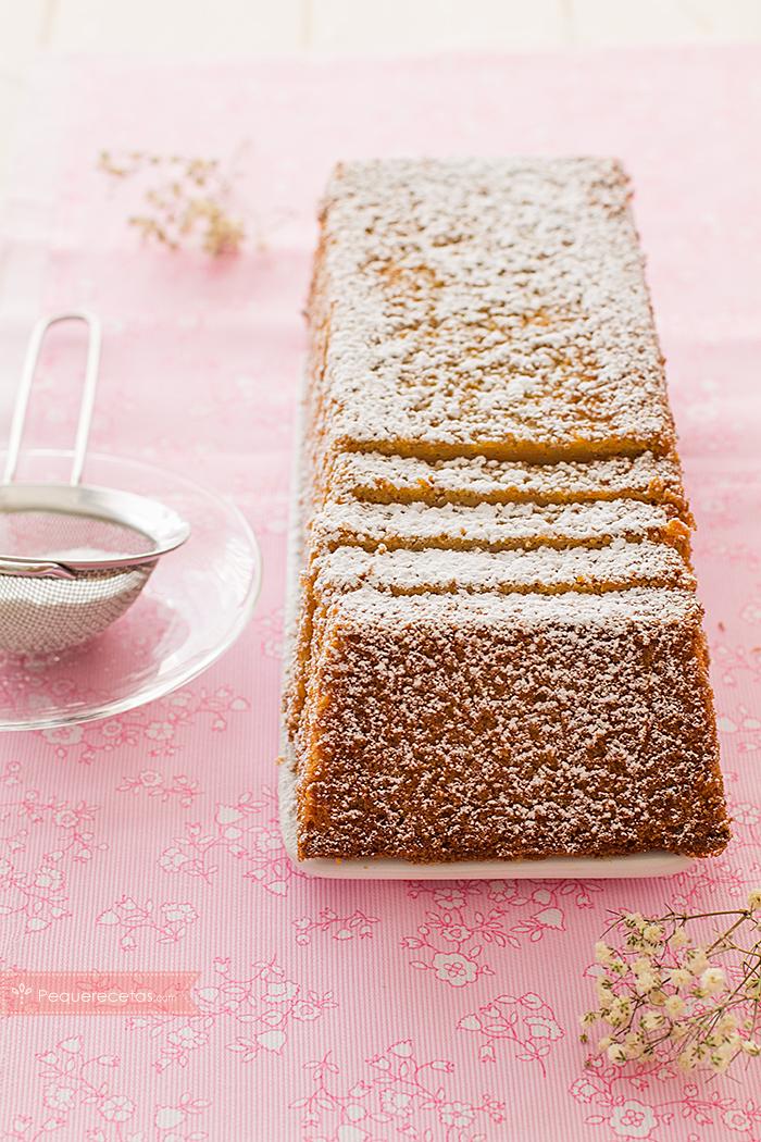 pastel calabaza, receta de bizcocho