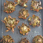 Alcachofas. Receta de alcachofas al horno