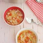 Sopa Quemagrasa de verduras, ¡desintoxicante!