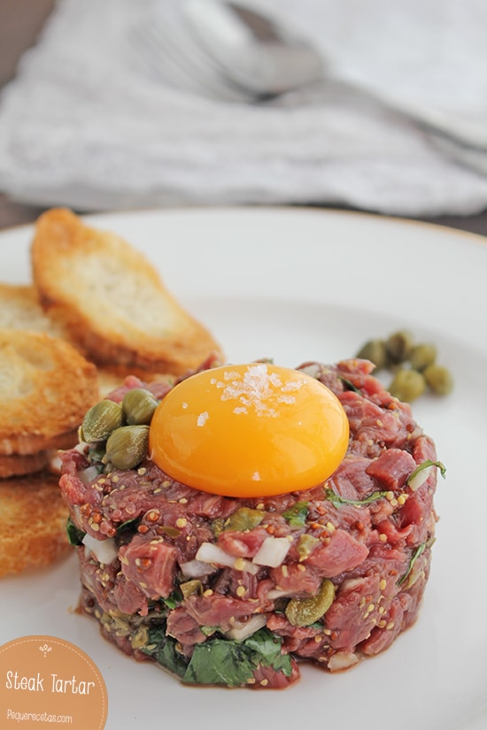 Steak Tartar receta