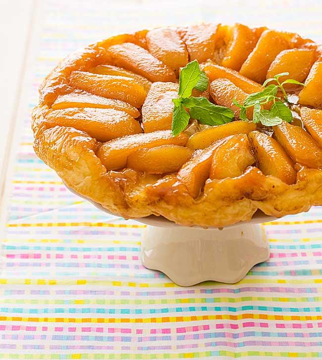 tarta tatin de manzana receta