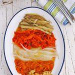 Escalivada de verduras al horno (receta tradicional)