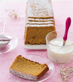 pastel de calabaza receta