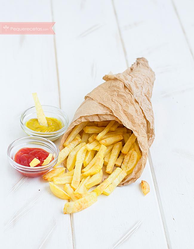 patatas fritas, horno