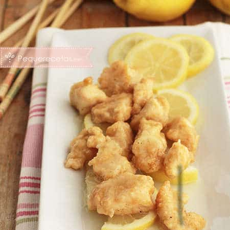 Pechuga de pollo al limón