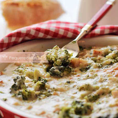 Brócoli gratinado paso a paso