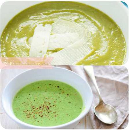 Crema de brócoli, receta