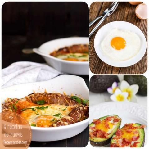 Huevos 8 Recetas Fáciles Con Huevos