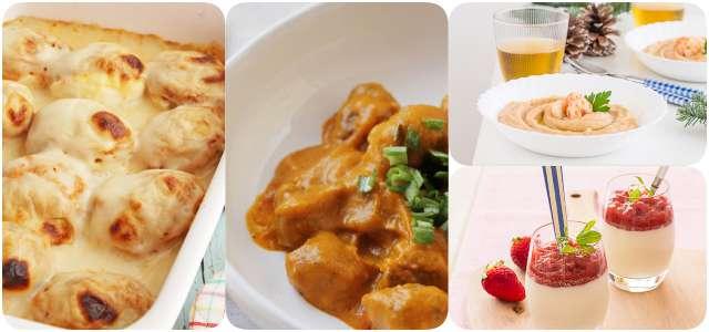 Menú semanal: recetas para octubre 2016