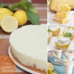 10 postres con limón