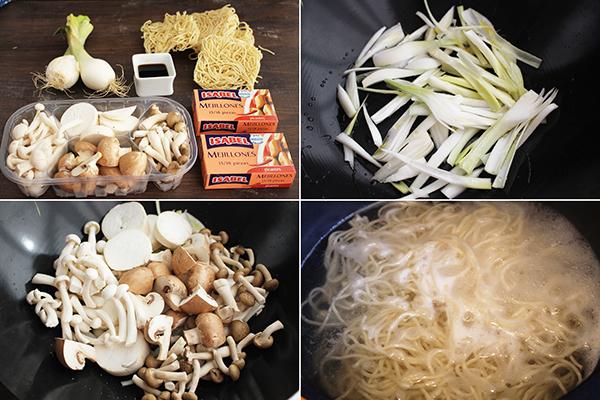 como hacer fideos chinos receta