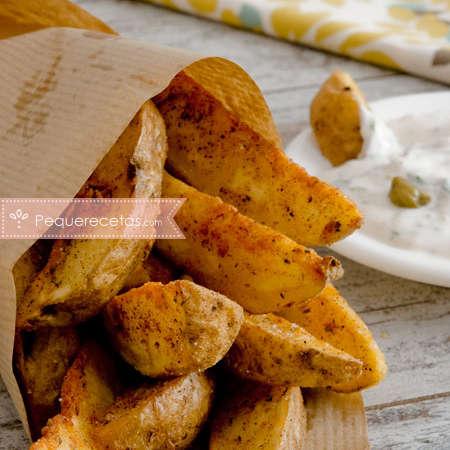 Patatas gajo, otra forma de hacer patatas fritas
