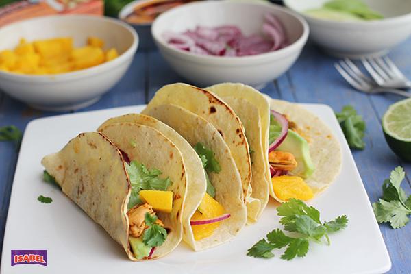 Tacos mejillones