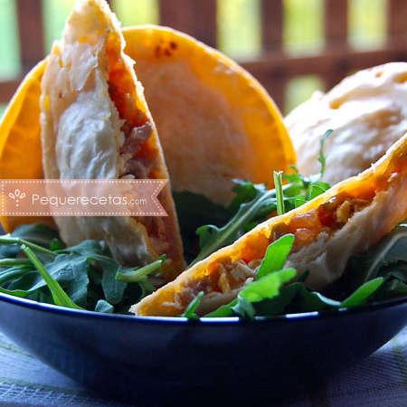 Recetas de empanadas: empanadillas de bonito