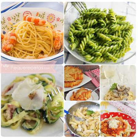 Recetas de pasta: fideos y salsas caseras
