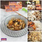 Fideos chinos con setas y mejillones picantes Isabel