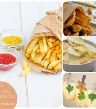 Cómo hacer patatas fritas sanas