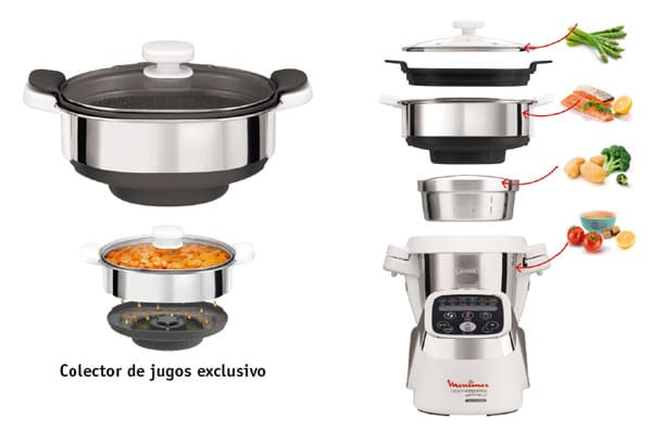 accesorio vapor cuisine companion