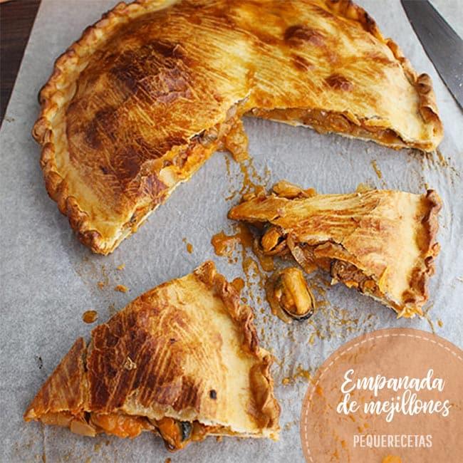 empanada de mejillones receta