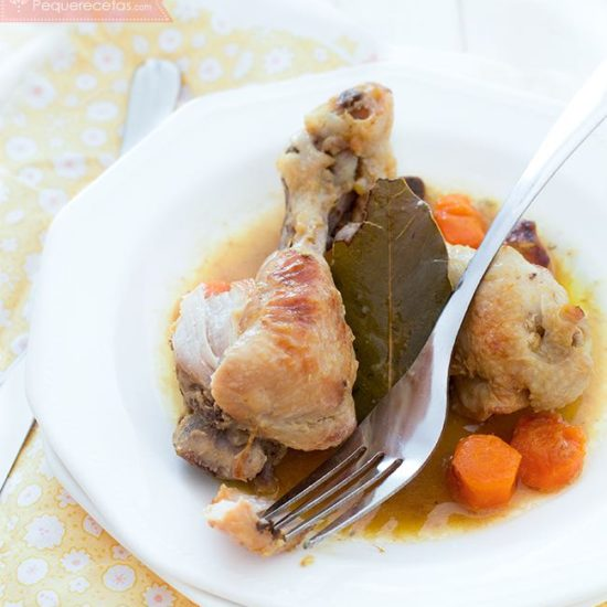 Pollo Guisado En Salsa Receta Tradicional Fácil Y Muy Rica Pequerecetas