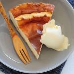Tarta de queso al horno ¡sin azúcar!