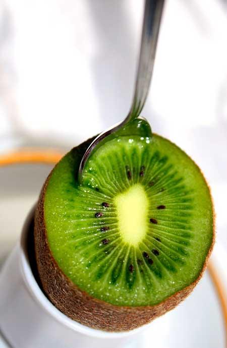 kiwi como tomarlo