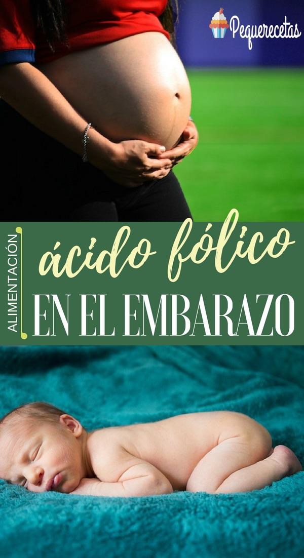 ácido fólico antes del embarazo