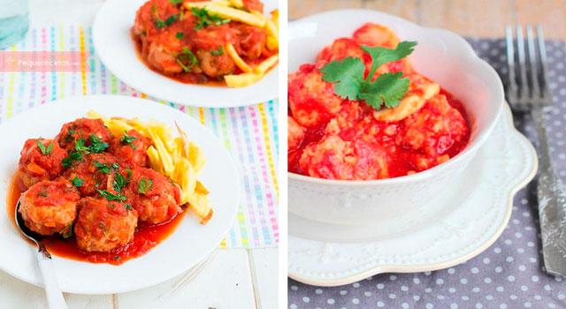albondigas con salsa