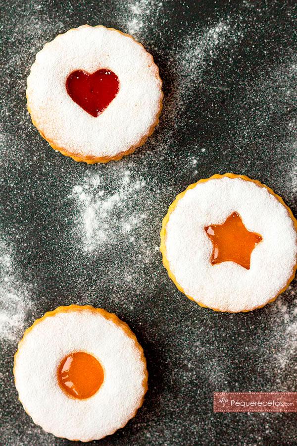 ingredientes galletas linzer
