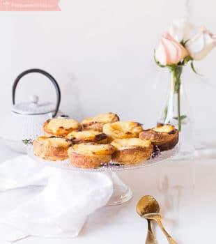 Receta de pasteles de Belém