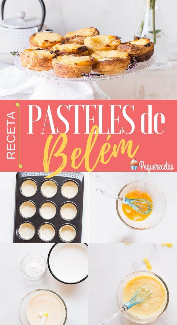 Cómo hacer pasteles de Belém