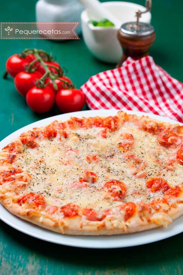 Masa de pizza paso a paso