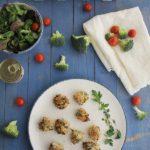 Bolitas de quinoa, brócoli y atún
