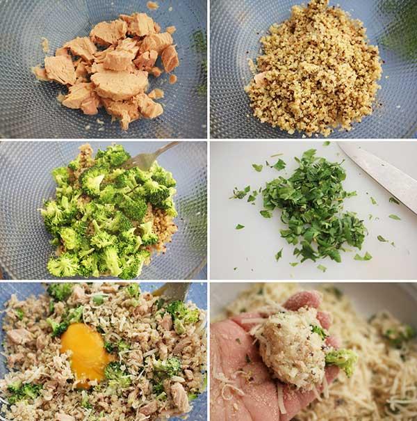 ingredientes receta quinoa y atun