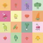 Frutas y verduras, amigos insustituibles también en el cole